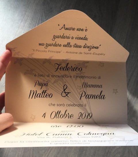 Partecipazioni nozze (Piccola)