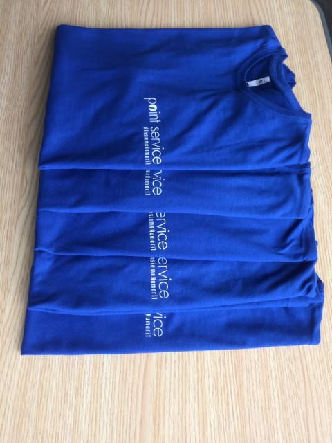 Tshirt Point blu (Piccola)
